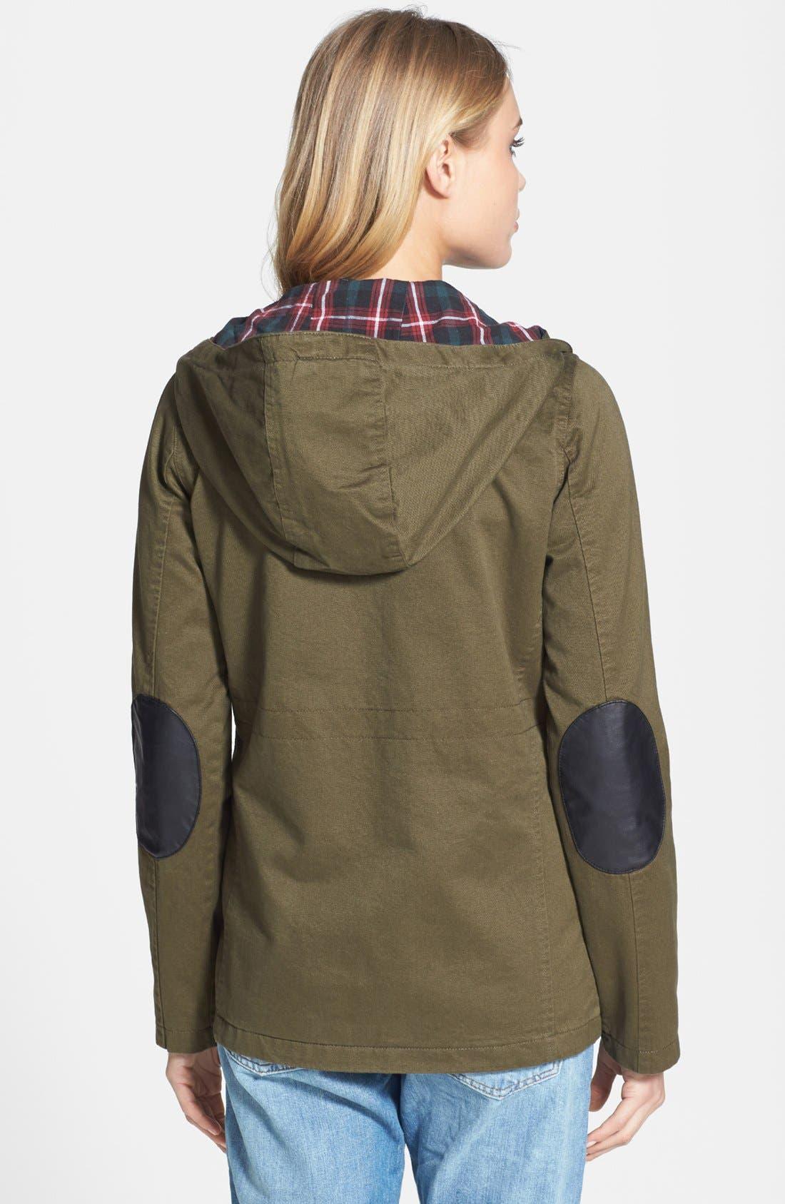 Alternate Image 2  - Topshop 'Duke' Hooded Jacket