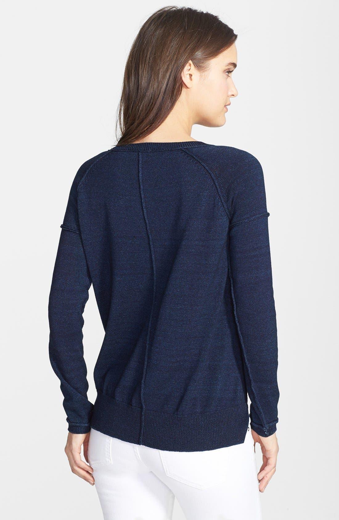 Alternate Image 2  - Splendid Crewneck Cotton Pullover