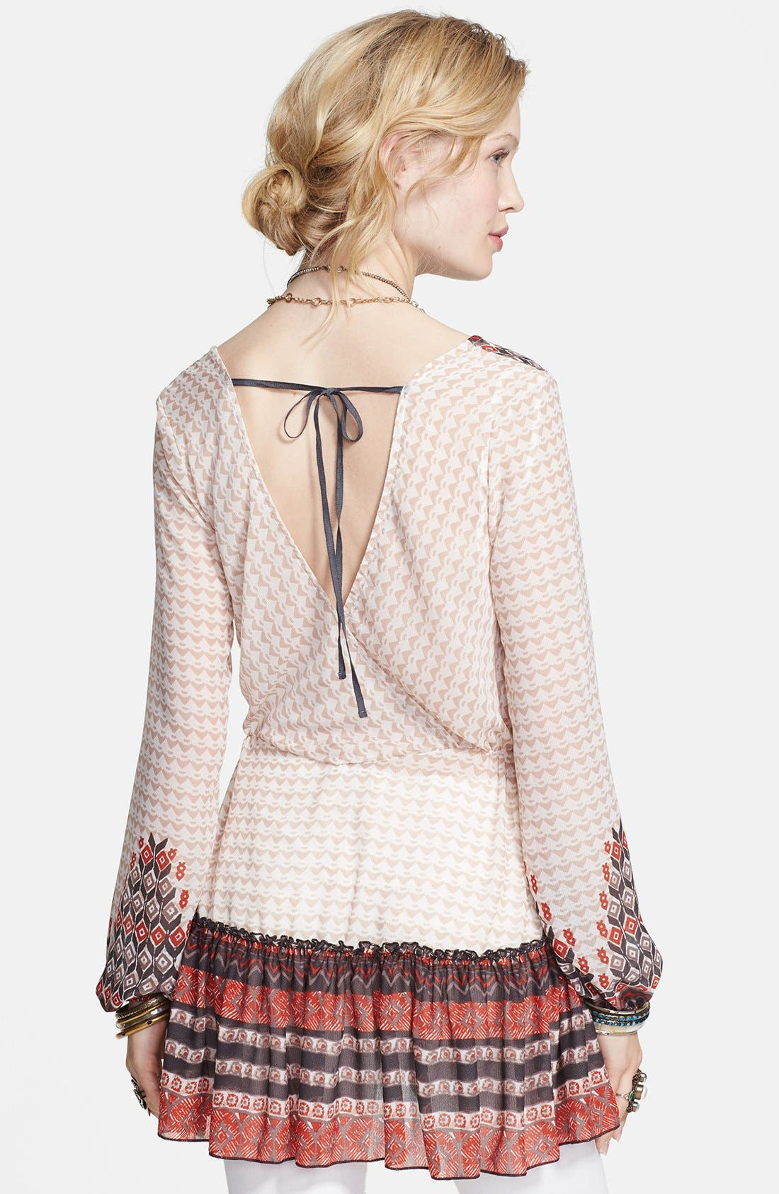 Alternate Image 2  - Free People 'Into the Mystic' Peasant Top