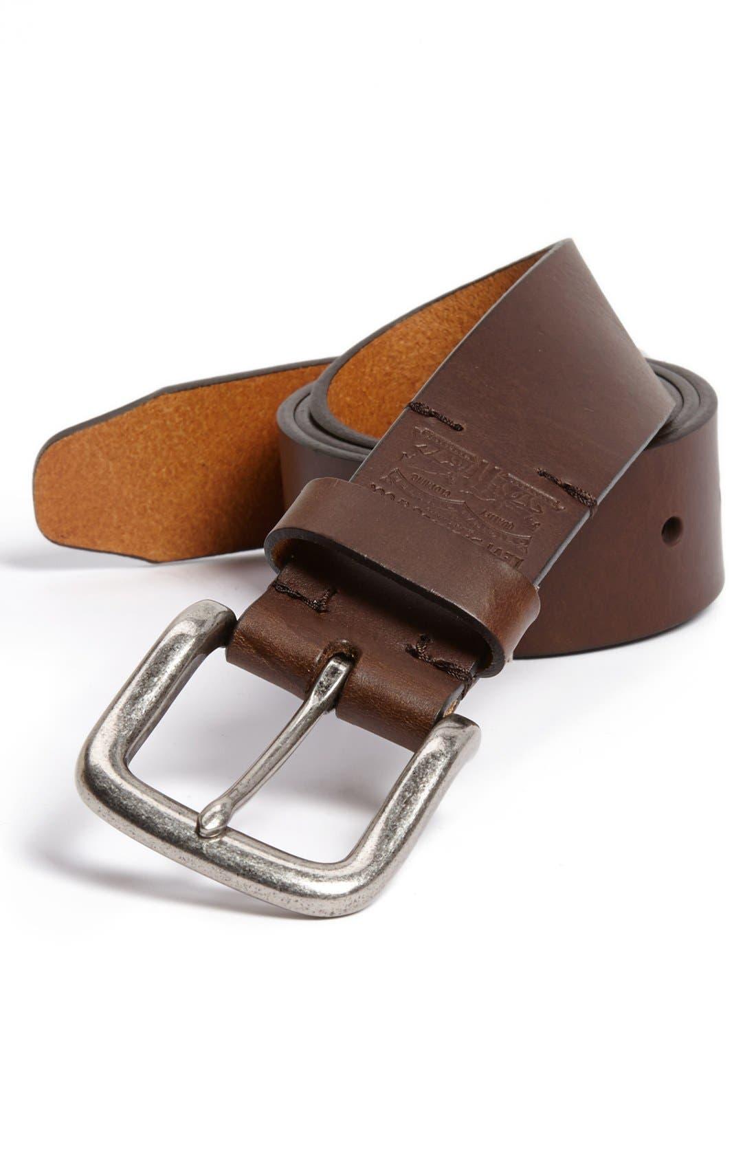 Alternate Image 1 Selected - Levi's® Leather Belt