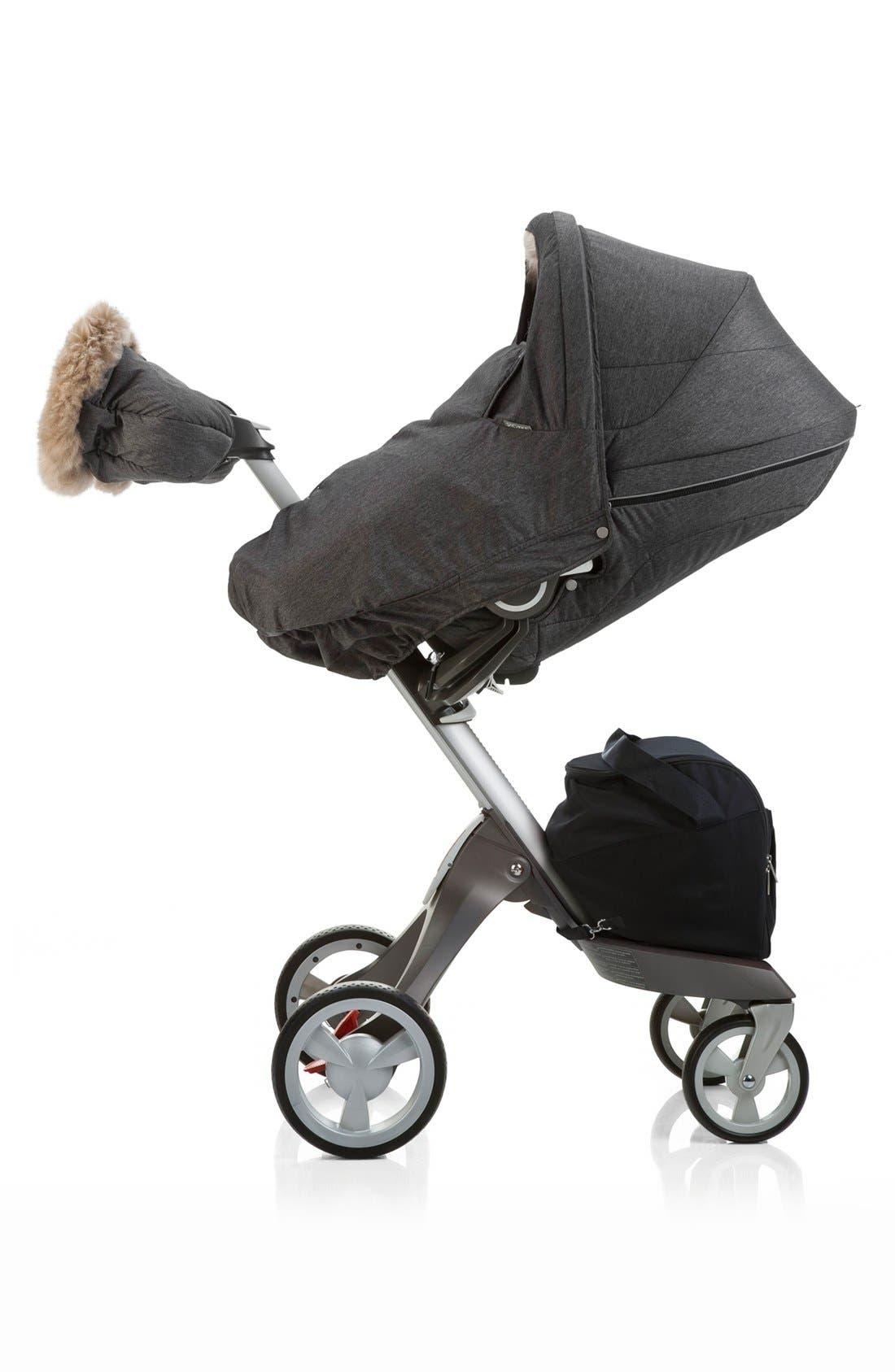 Stroller Winter Kit,                             Alternate thumbnail 2, color,                             Anthracite Melange