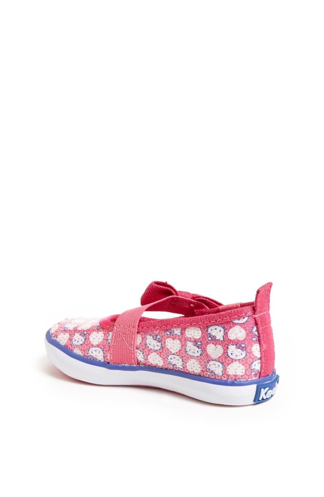 Alternate Image 2  - Keds® 'Champion - Hello Kitty®' Sneaker (Walker & Toddler)