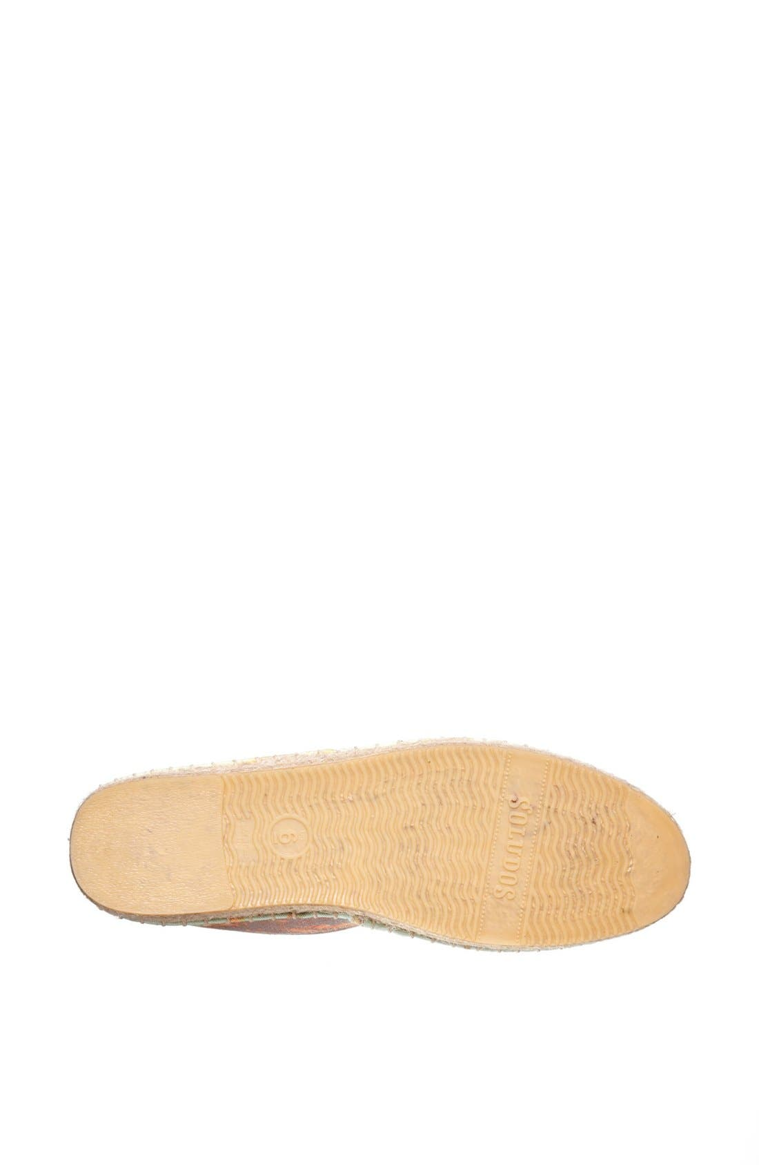 Alternate Image 4  - We Are Handsome x Soludos Slip-On (Limited Edition) (Women)