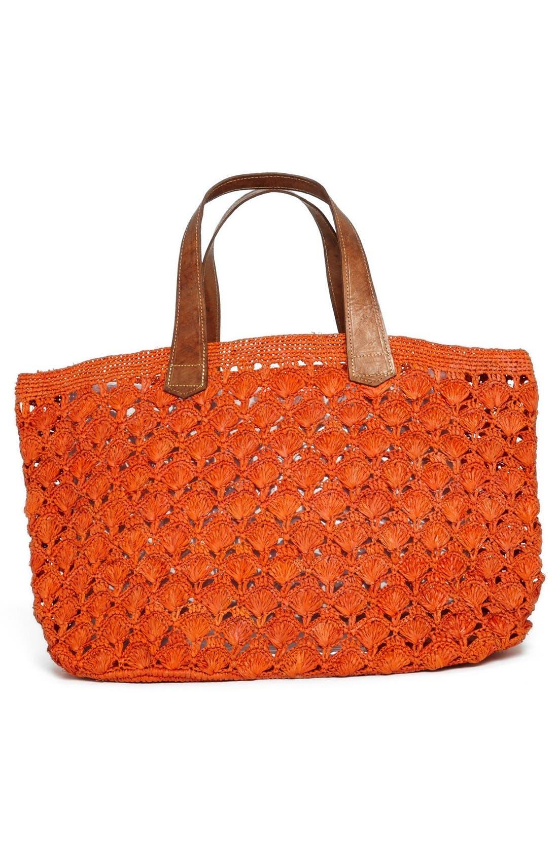 Alternate Image 4  - Mar y Sol 'Valencia' Crocheted Raffia Tote