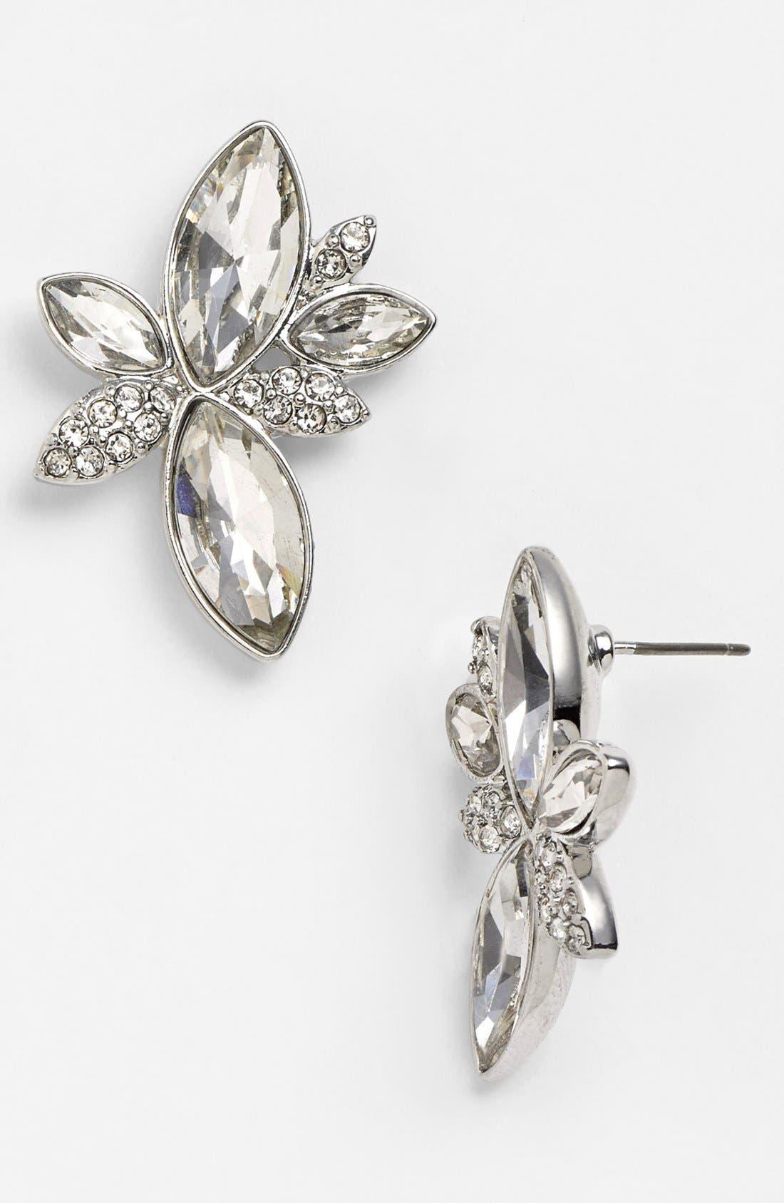 Alternate Image 1 Selected - Nina 'Jayne' Cluster Stud Earrings