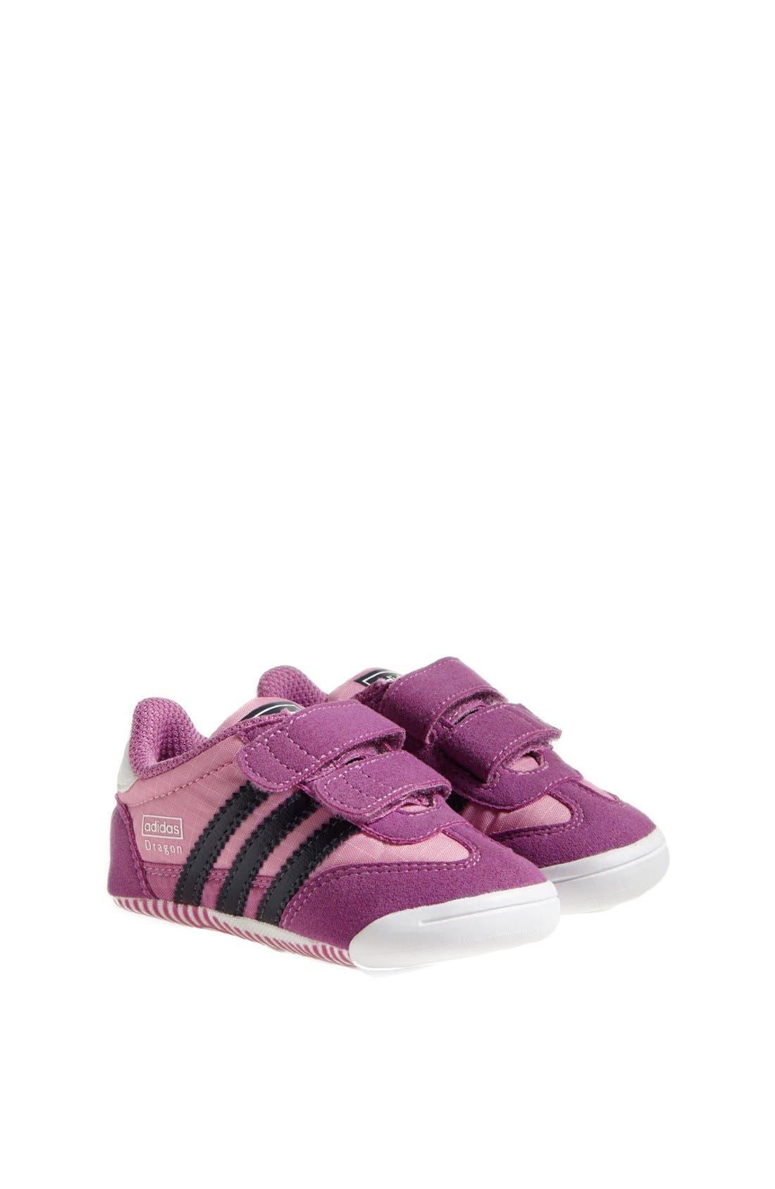 Alternate Image 1 Selected - adidas 'Learn-2-Walk - Dragon' Crib Shoe (Baby Girls)
