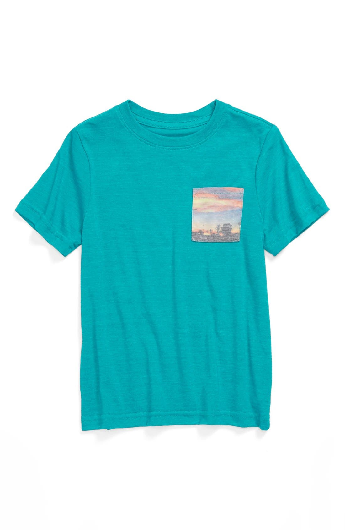 Alternate Image 2  - Tucker + Tate 'Marc Sublimation' Pocket T-Shirt (Big Boys)