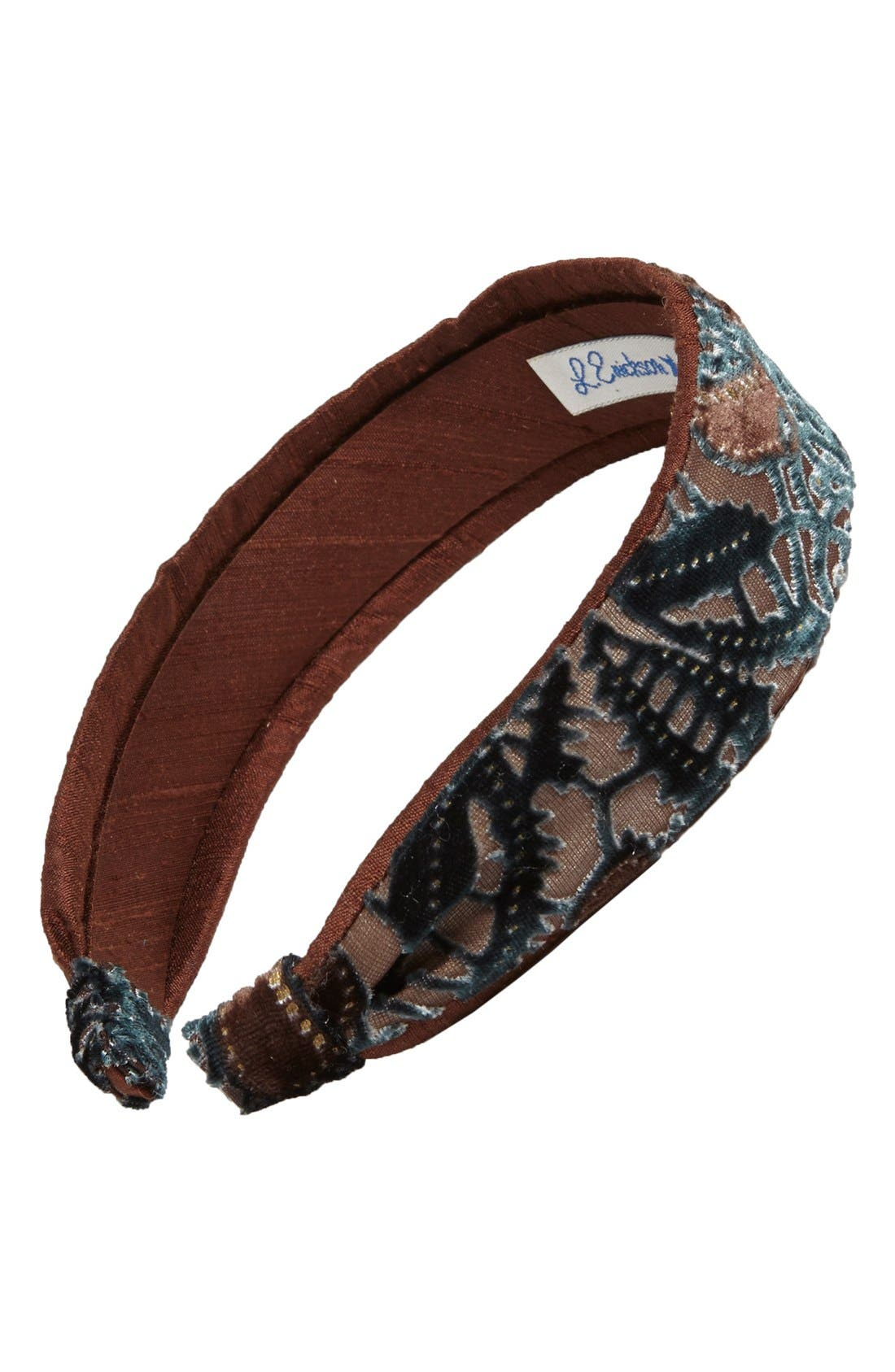 L. Erickson Two Tone Scarf Headband