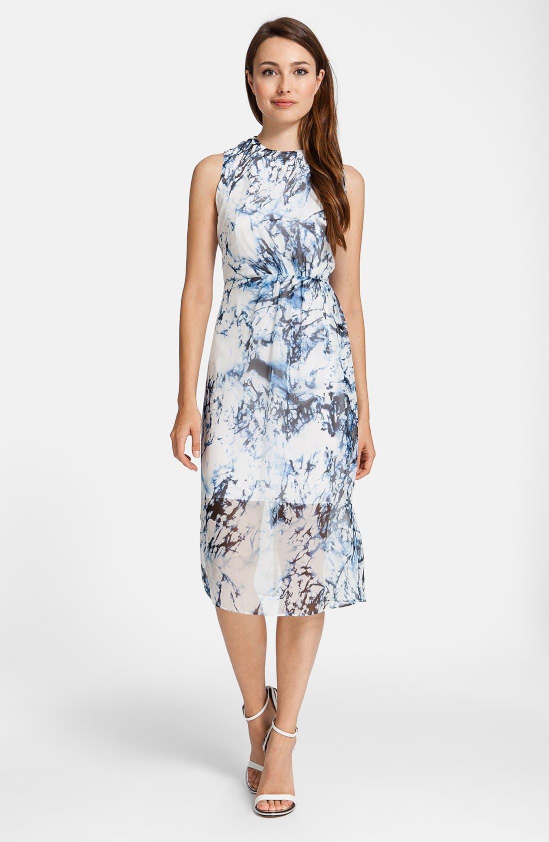 Main Image - Cynthia Steffe 'Riva' Print Silk Dress