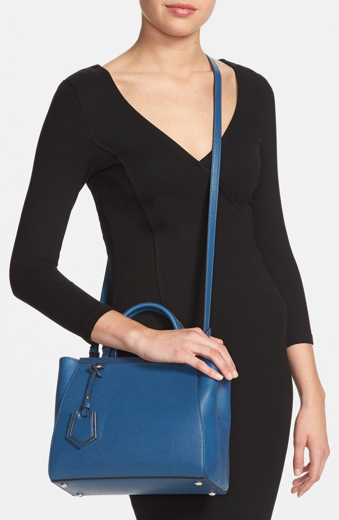 Alternate Image 2  - Fendi 'Petite 2Jours Elite' Leather Shopper