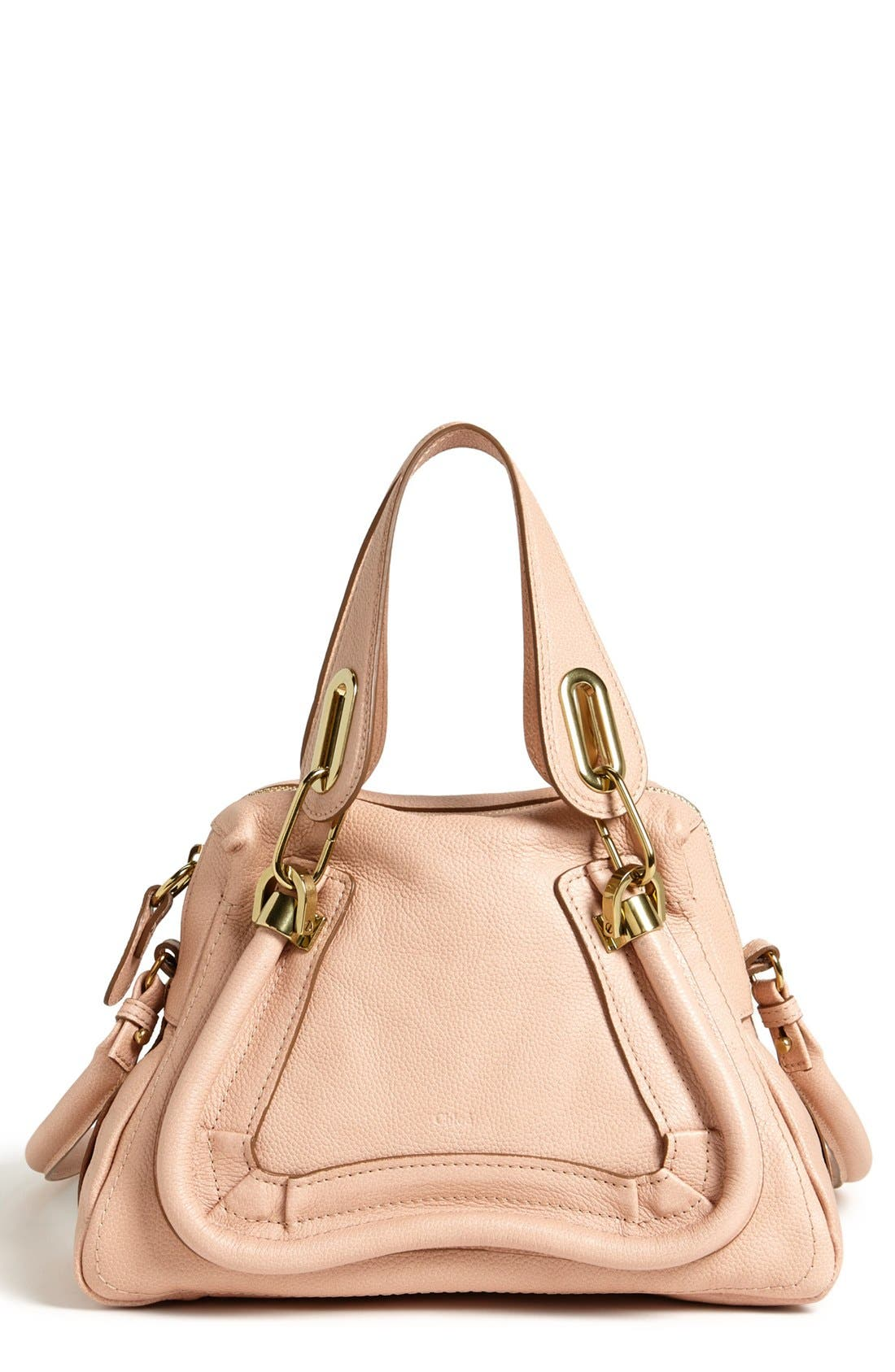 Alternate Image 1 Selected - Chloé 'Paraty - Small' Leather Satchel