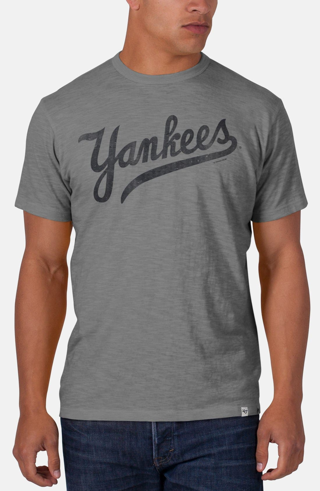 Main Image - '47 'New York Yankees - Scrum' Graphic T-Shirt
