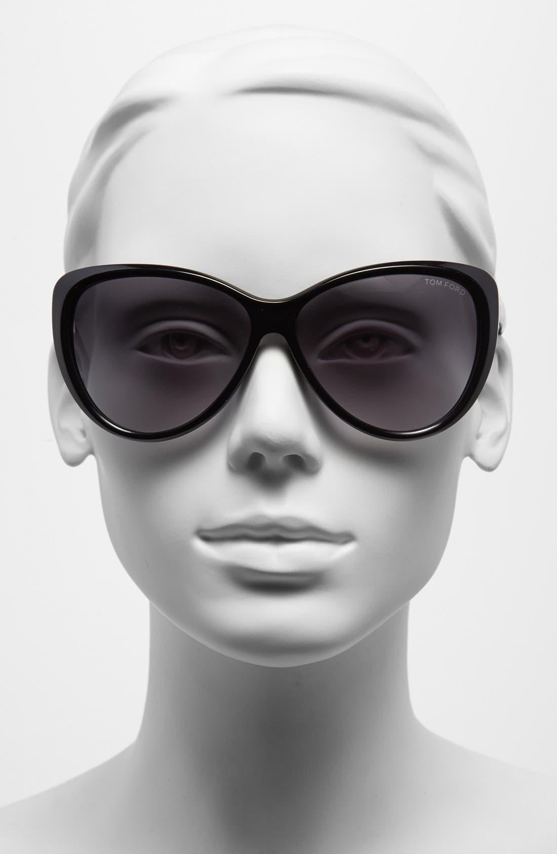 Alternate Image 2  - Tom Ford 61mm Cat Eye Sunglasses