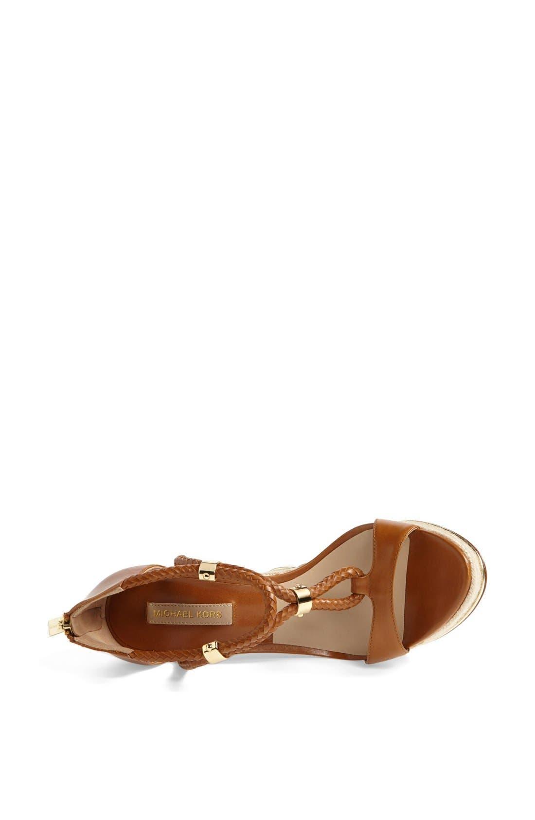 Alternate Image 3  - Michael Kors 'Sherie ' Wedge Sandal