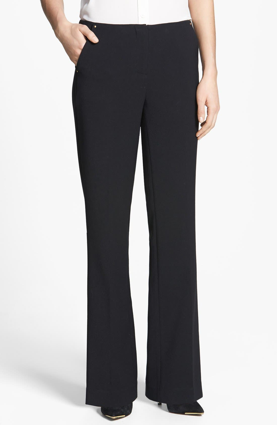 Alternate Image 1 Selected - Anne Klein Flare Leg Pants