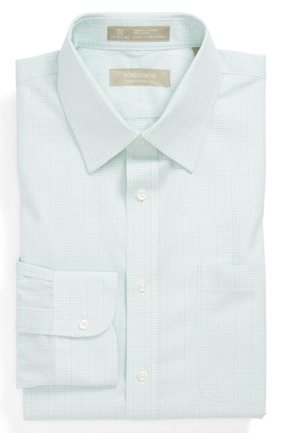Main Image - Nordstrom Smartcare™ Wrinkle Free Traditional Fit Dress Shirt