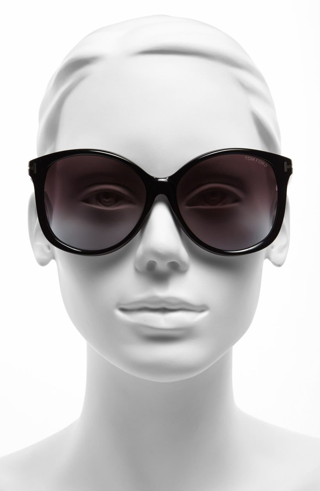 Alternate Image 2  - Tom Ford 'Alicia' 59mm Sunglasses