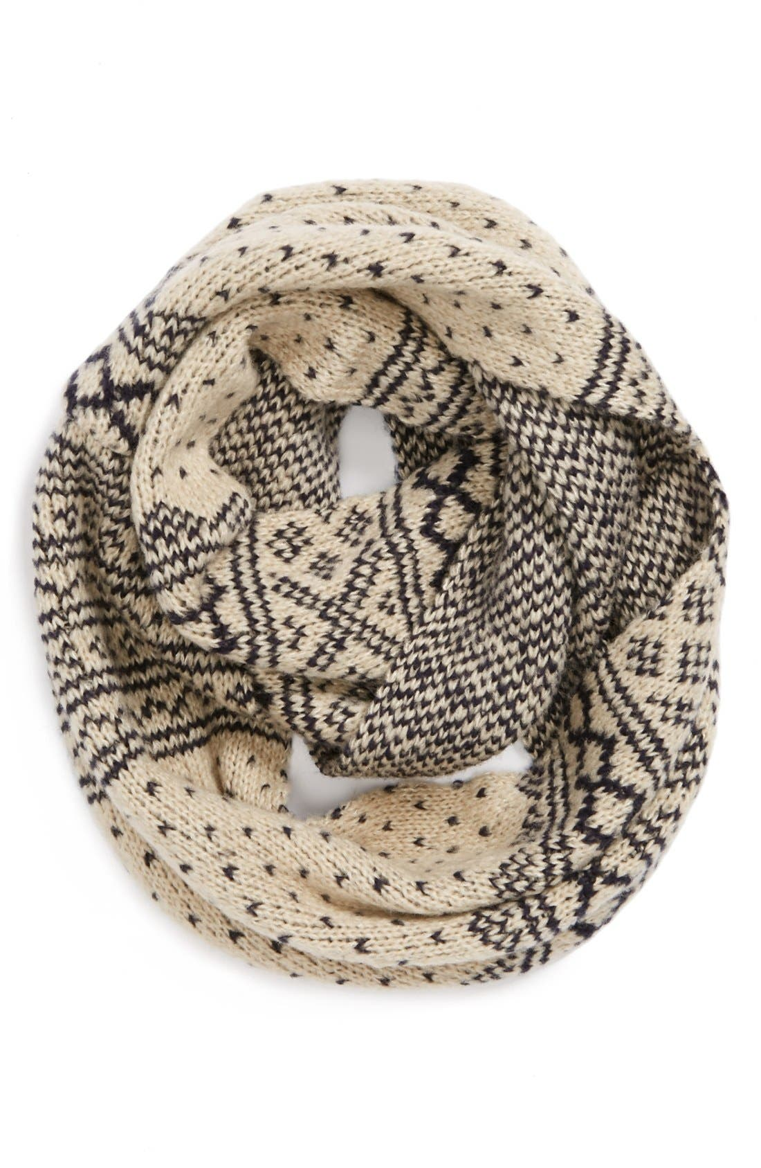Alternate Image 1 Selected - Topshop 'Scandi Fair Isle' Snood