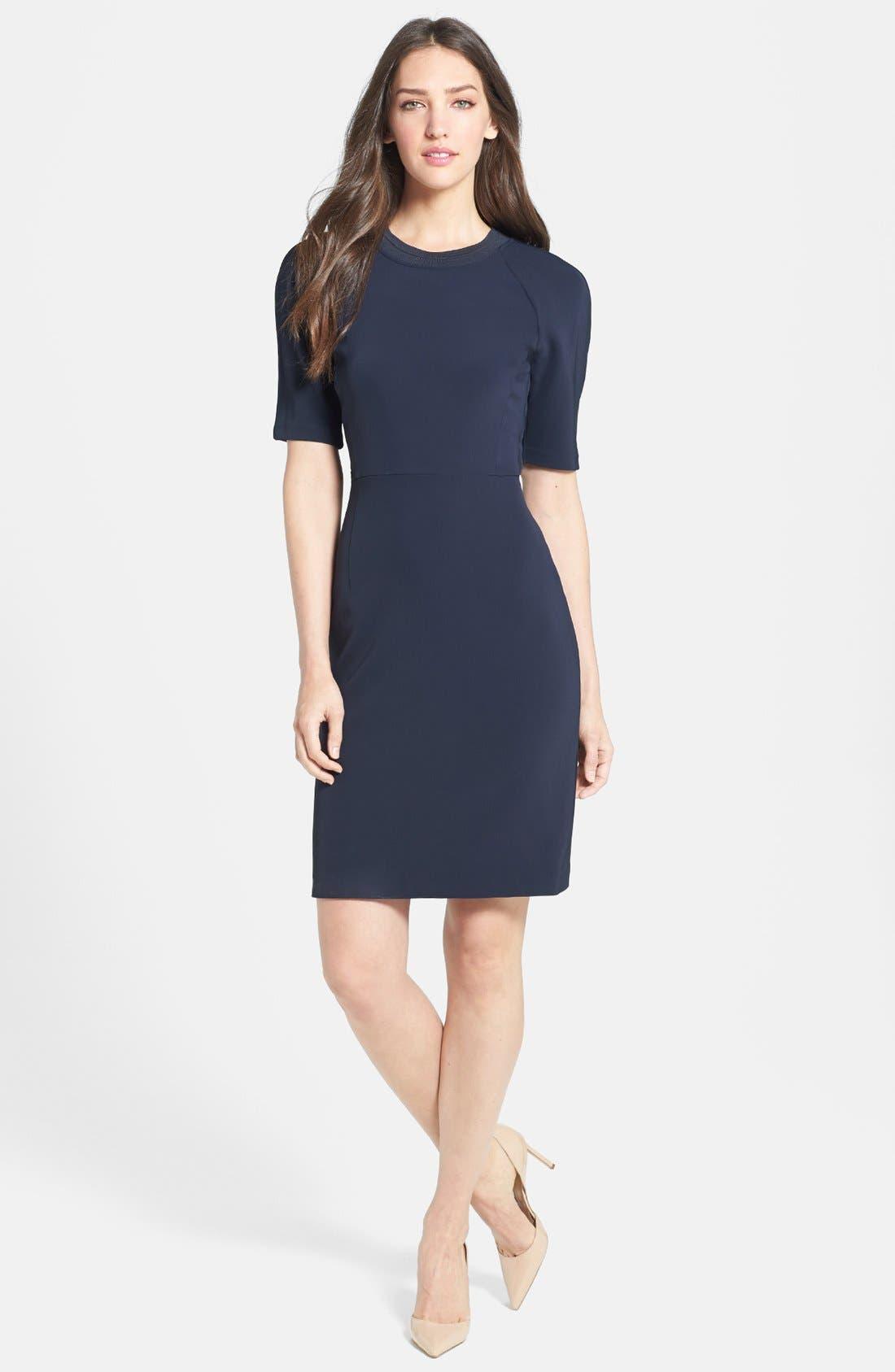 Alternate Image 1 Selected - Theory 'Tolland W.' Jersey Sheath Dress