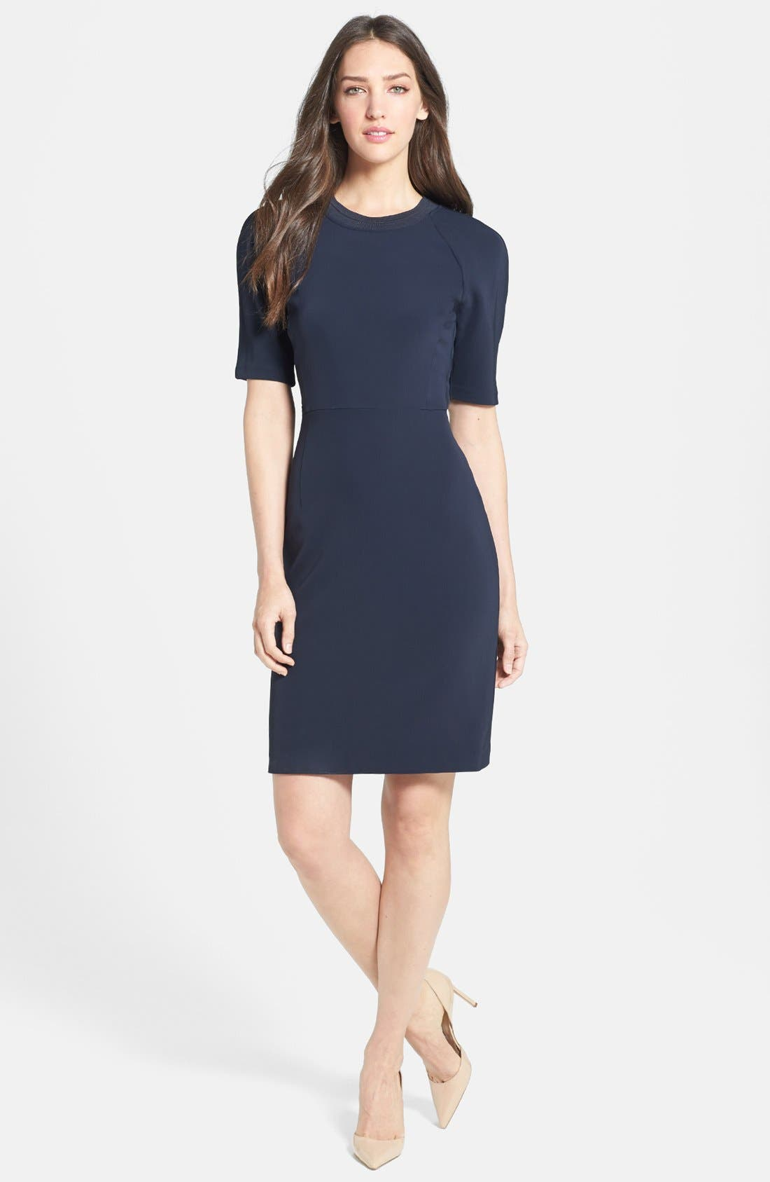 Main Image - Theory 'Tolland W.' Jersey Sheath Dress