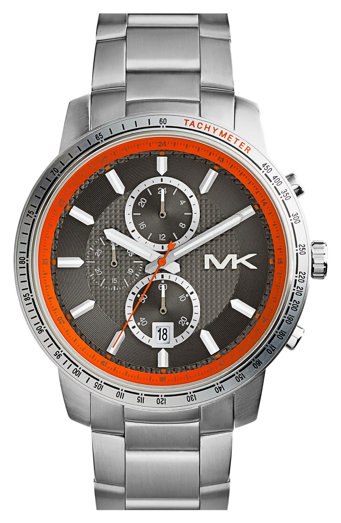 Alternate Image 4  - Michael Kors 'Granger' Chronograph Bracelet Watch, 45mm