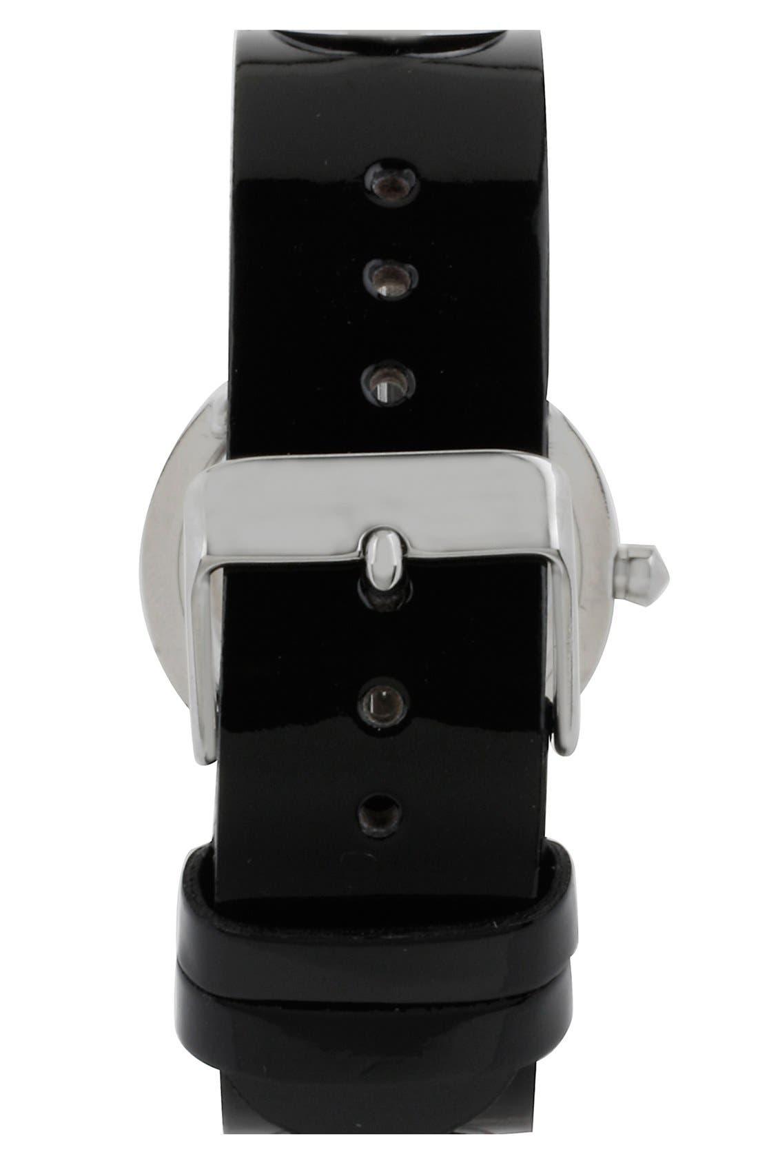 Alternate Image 2  - Steve Madden Grommet Strap Watch, 30mm
