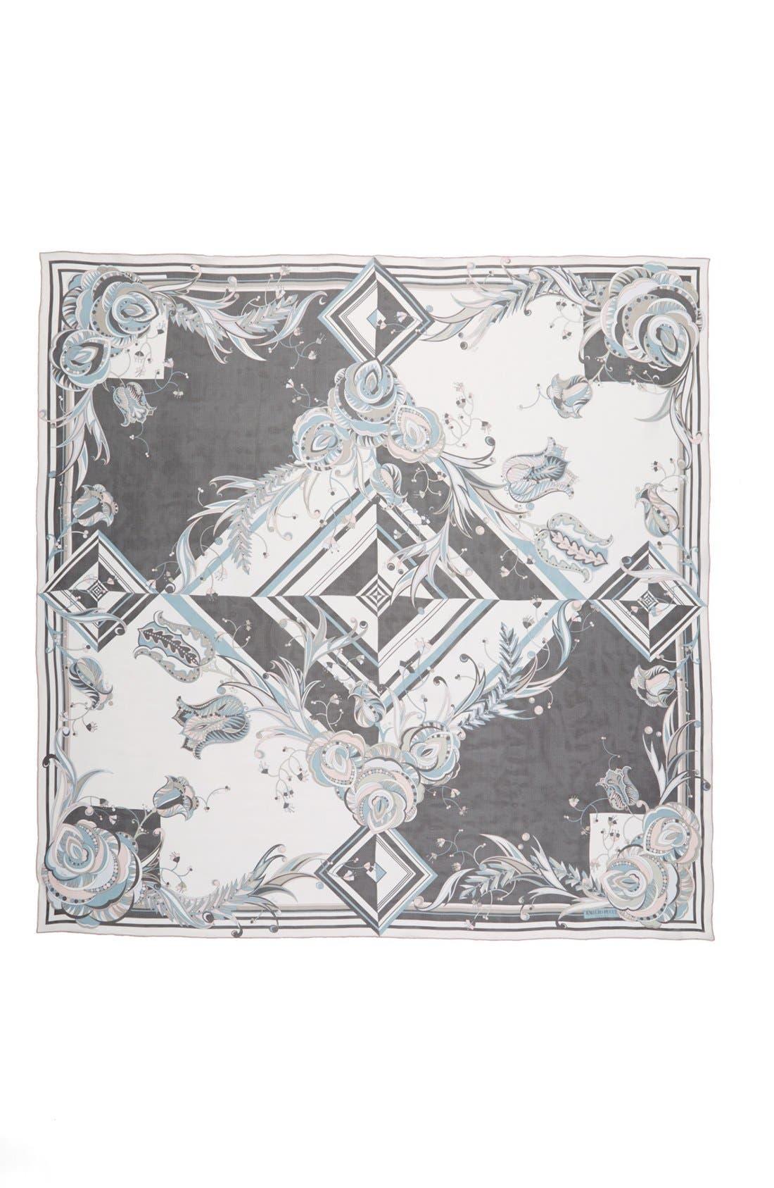 Alternate Image 2  - Emilio Pucci 'Star Rose' Silk Scarf