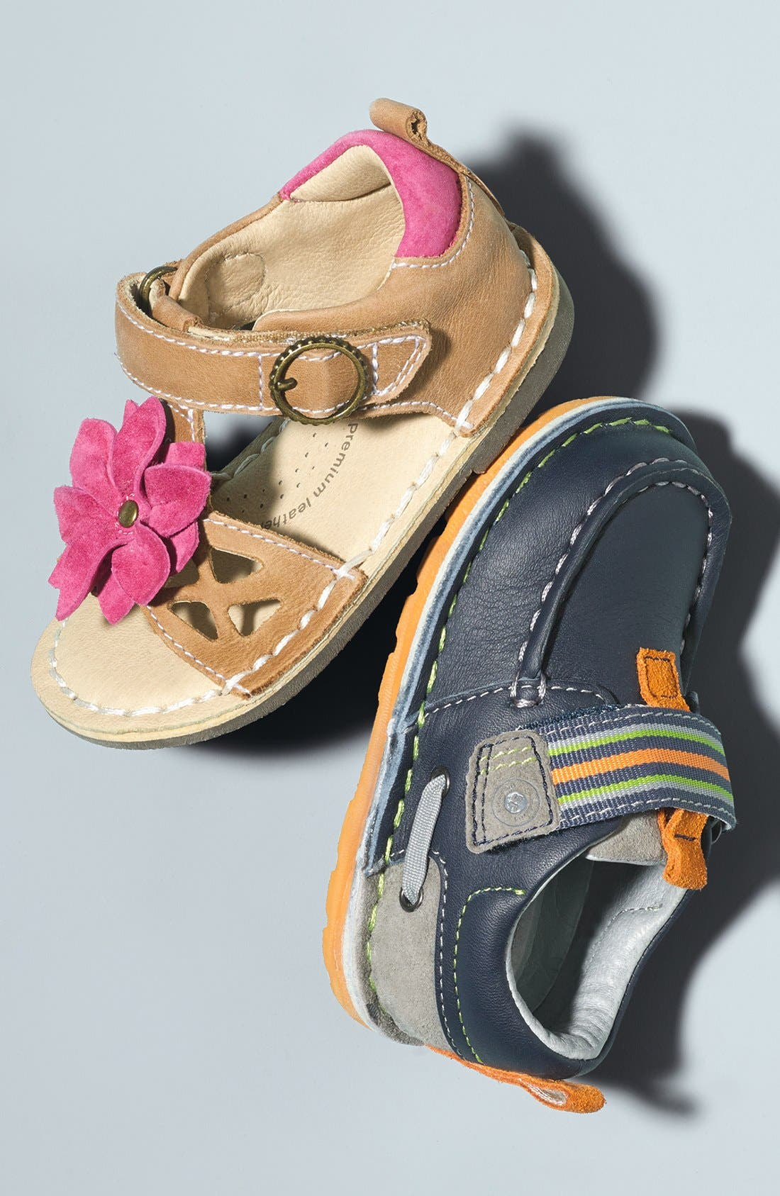 Alternate Image 5  - Stride Rite 'Medallion Collection - Dane' Slip-On (Baby, Walker & Toddler)