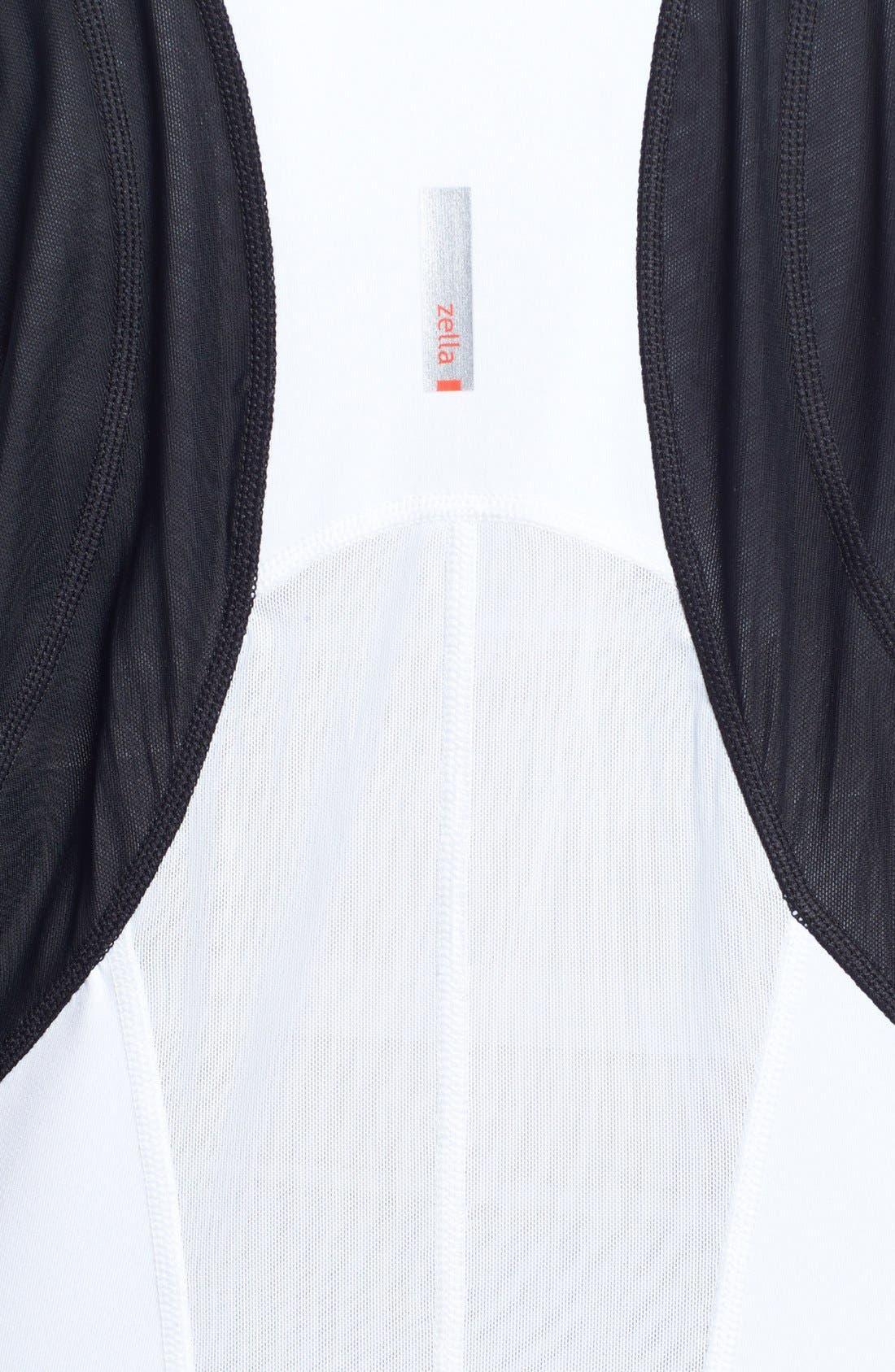 Alternate Image 5  - Zella 'Bliss' Colorblock Jacket (Plus Size)