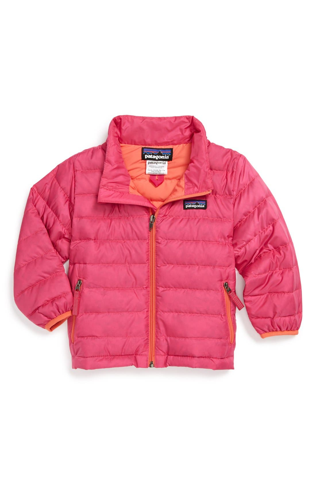 Alternate Image 1 Selected - Patagonia Down Jacket (Baby Girls)