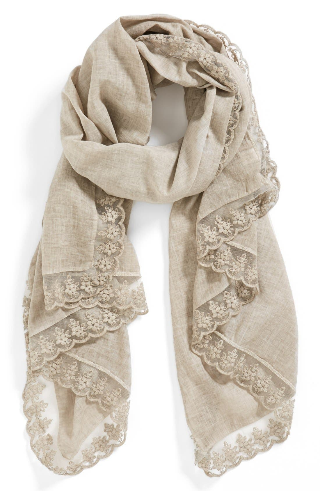 Main Image - Nordstrom 'Vintage Butterfly' Scarf