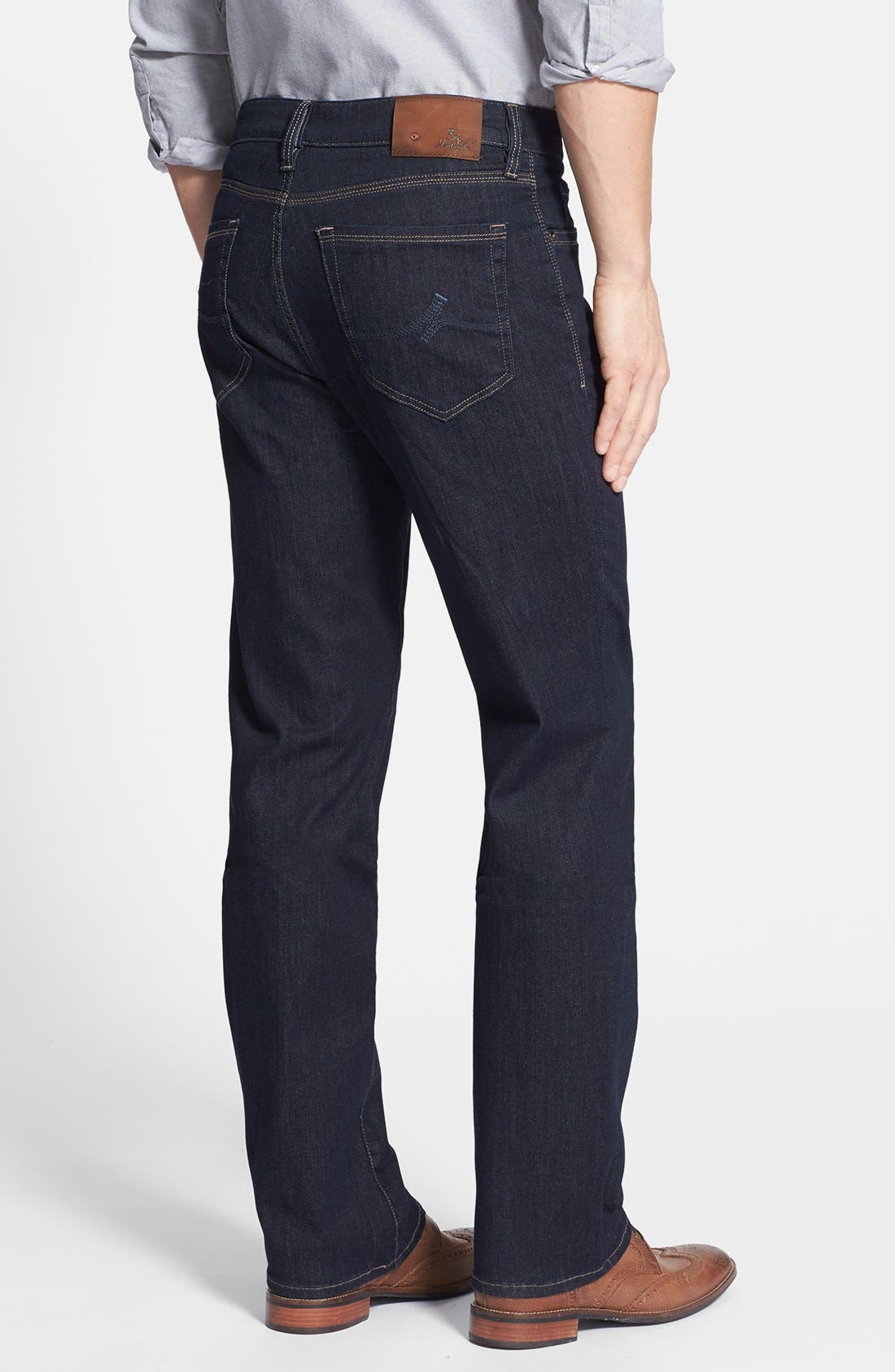 'Charisma' Classic Relaxed Fit Jeans,                             Alternate thumbnail 2, color,                             Midnight Cashmere