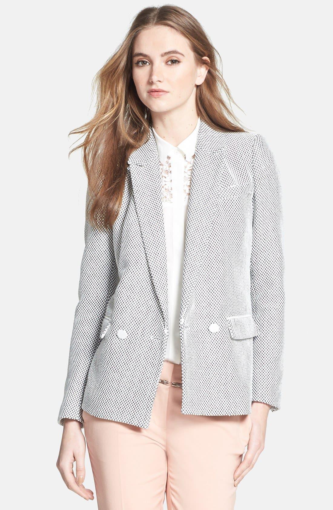 Alternate Image 1 Selected - Rebecca Taylor 'Honeycomb' Jacket