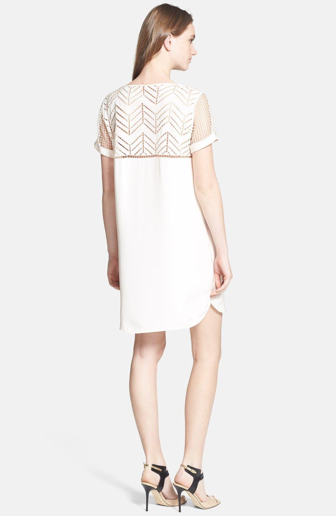 Alternate Image 2  - Rebecca Minkoff 'Lorelei' Silk Shift Dress