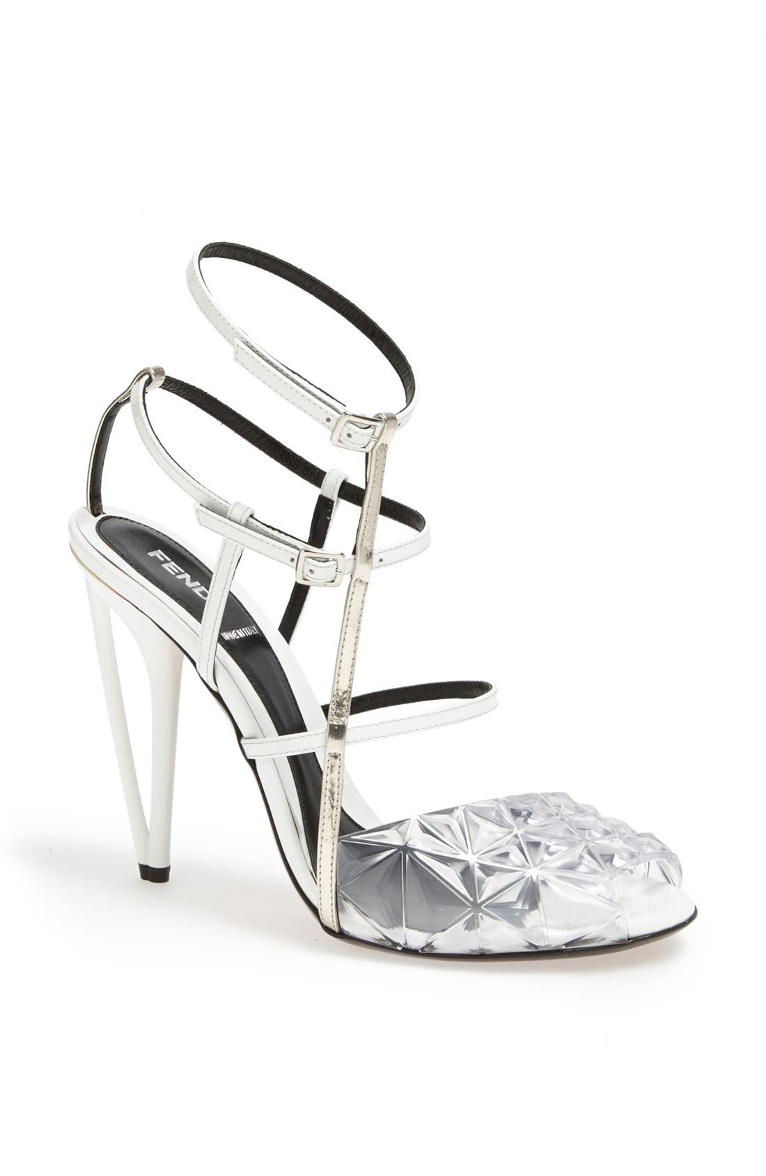 Alternate Image 1 Selected - Fendi 'Iridia' Sandal