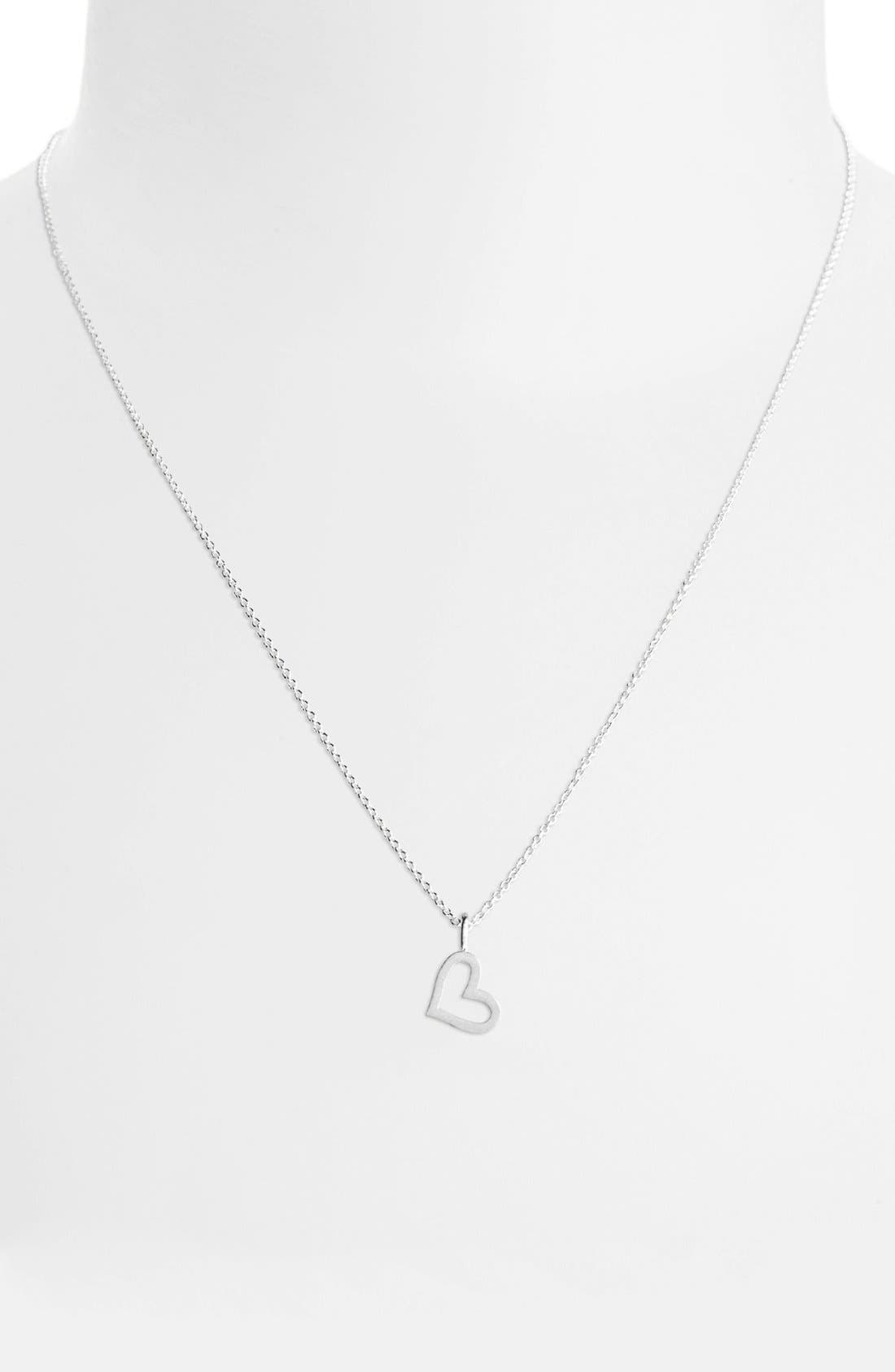 Alternate Image 2  - Dogeared 'Every Great Thing' Boxed Heart Pendant Necklace