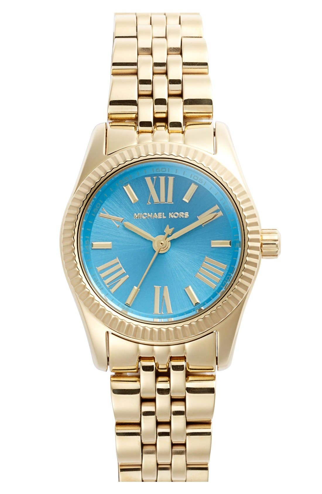 Alternate Image 1 Selected - Michael Kors 'Petite Lexington' Bracelet Watch, 26mm
