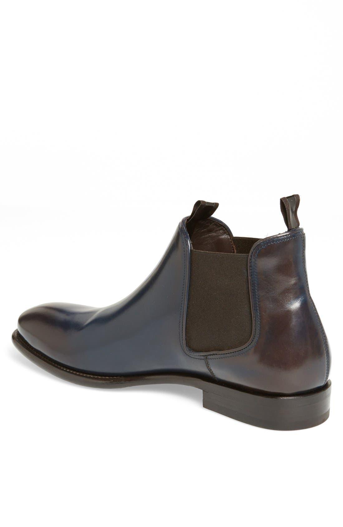 'Santo' Chelsea Boot,                             Alternate thumbnail 2, color,                             Ultramarine Blue