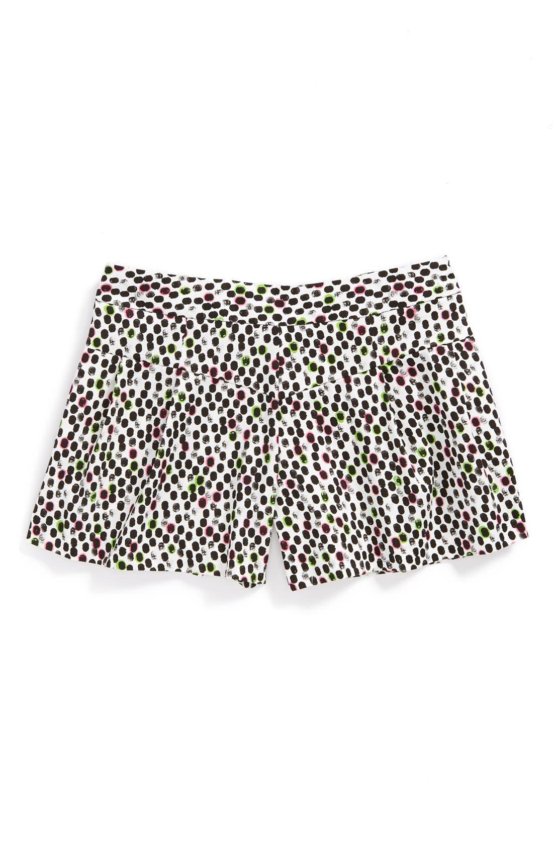 Alternate Image 1 Selected - Milly Minis 'Ocelot' Shorts (Big Girls)