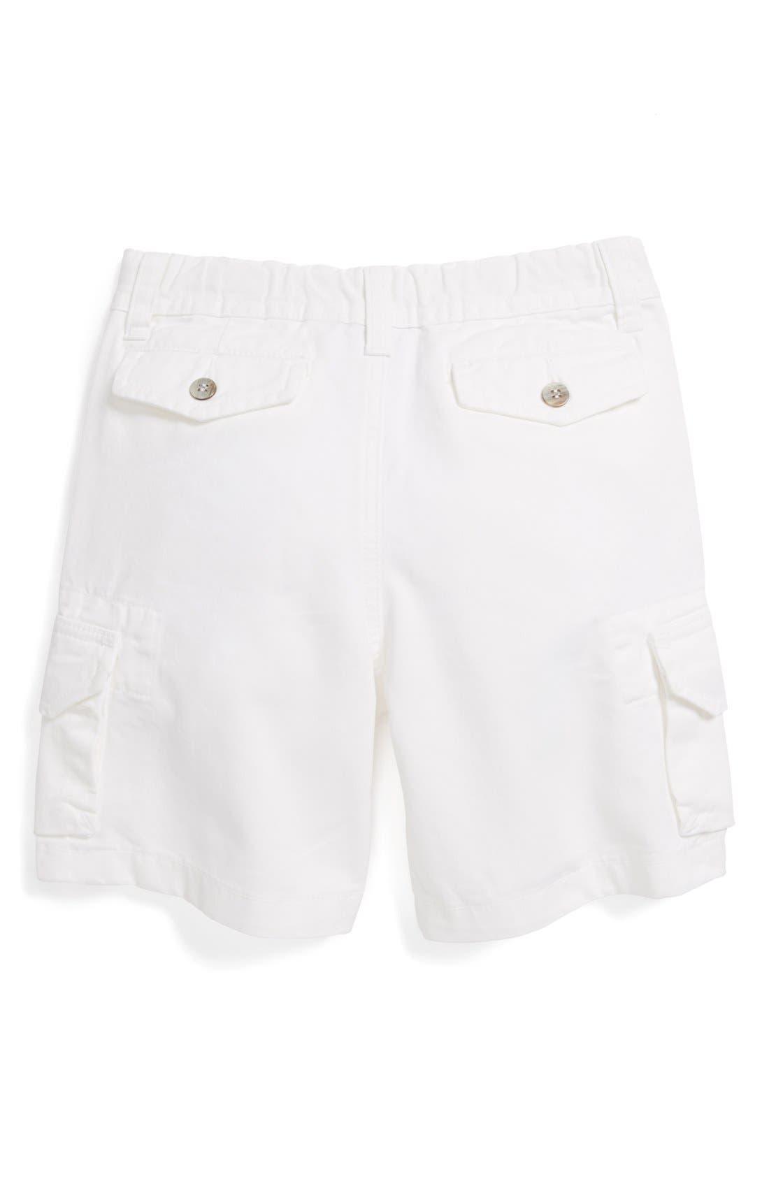 Alternate Image 2  - Oscar de la Renta Twill Cargo Shorts (Toddler Boys)