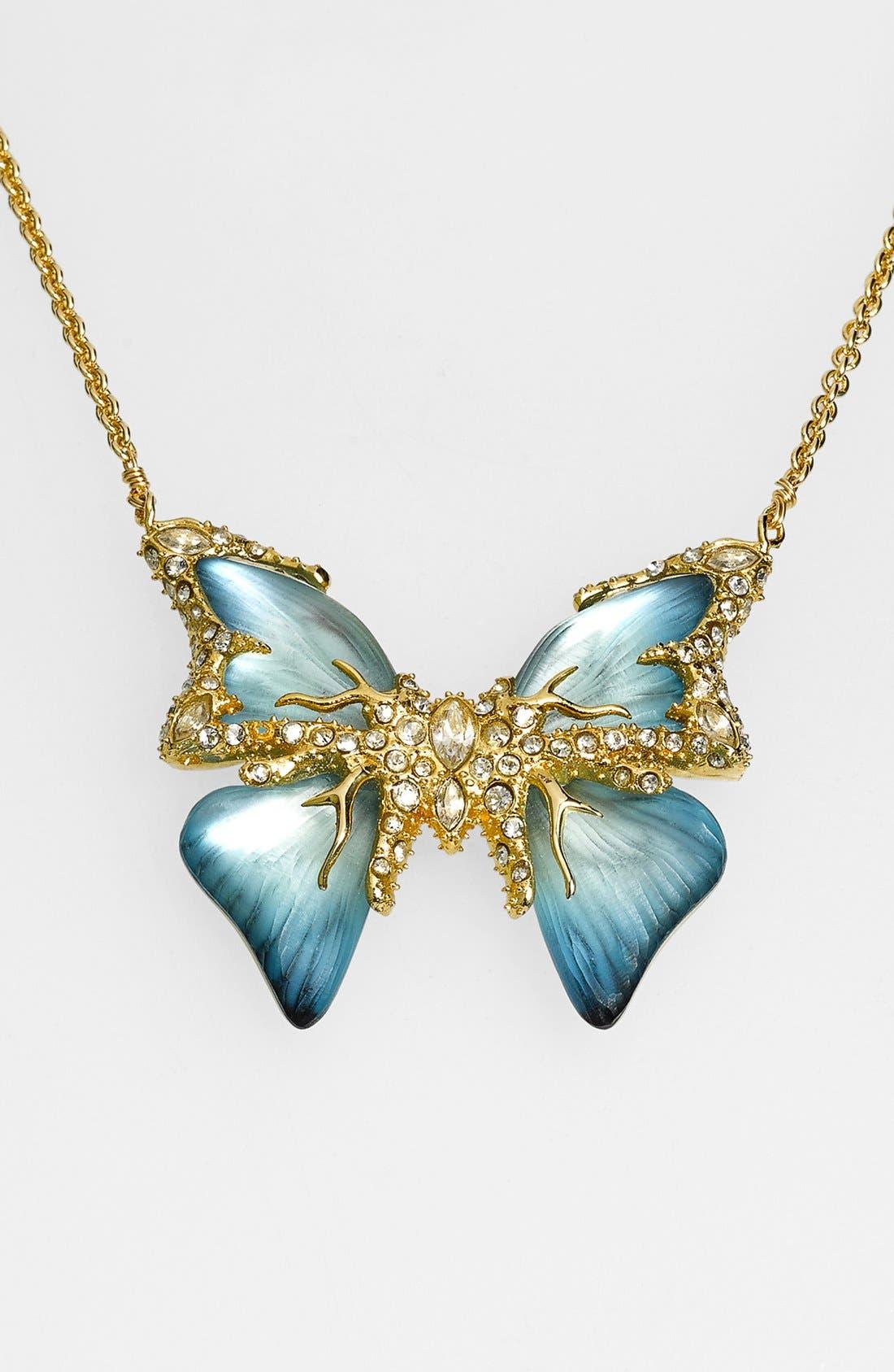 Main Image - Alexis Bittar 'Lucite® - Jardin Mystère' Butterfly Pendant Necklace