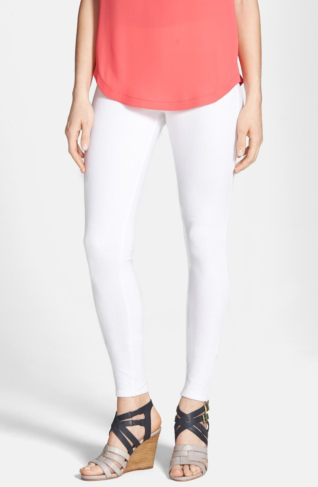Alternate Image 1 Selected - Hue Denim Leggings