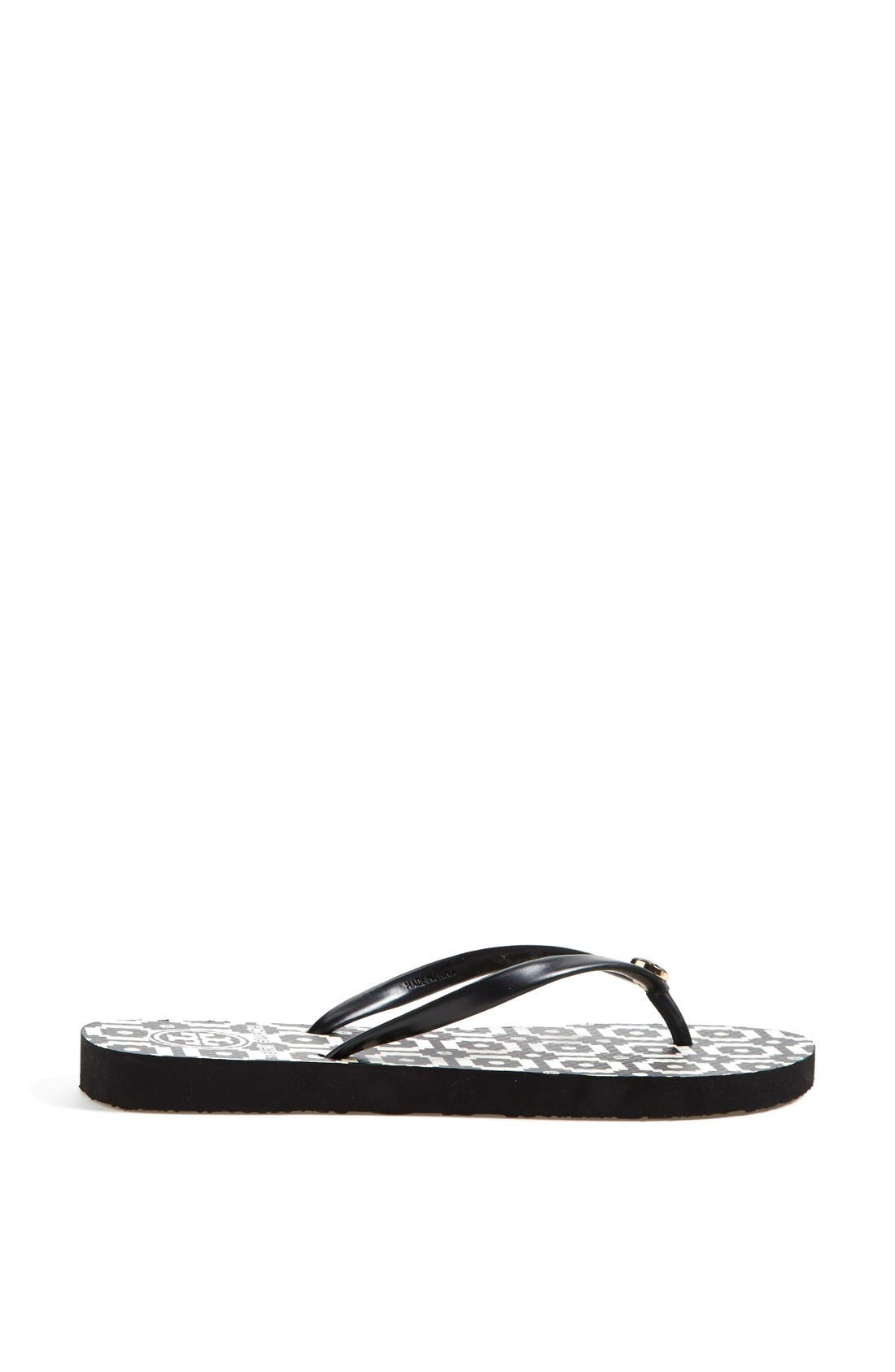 Alternate Image 2  - Tory Burch Print Flip Flop