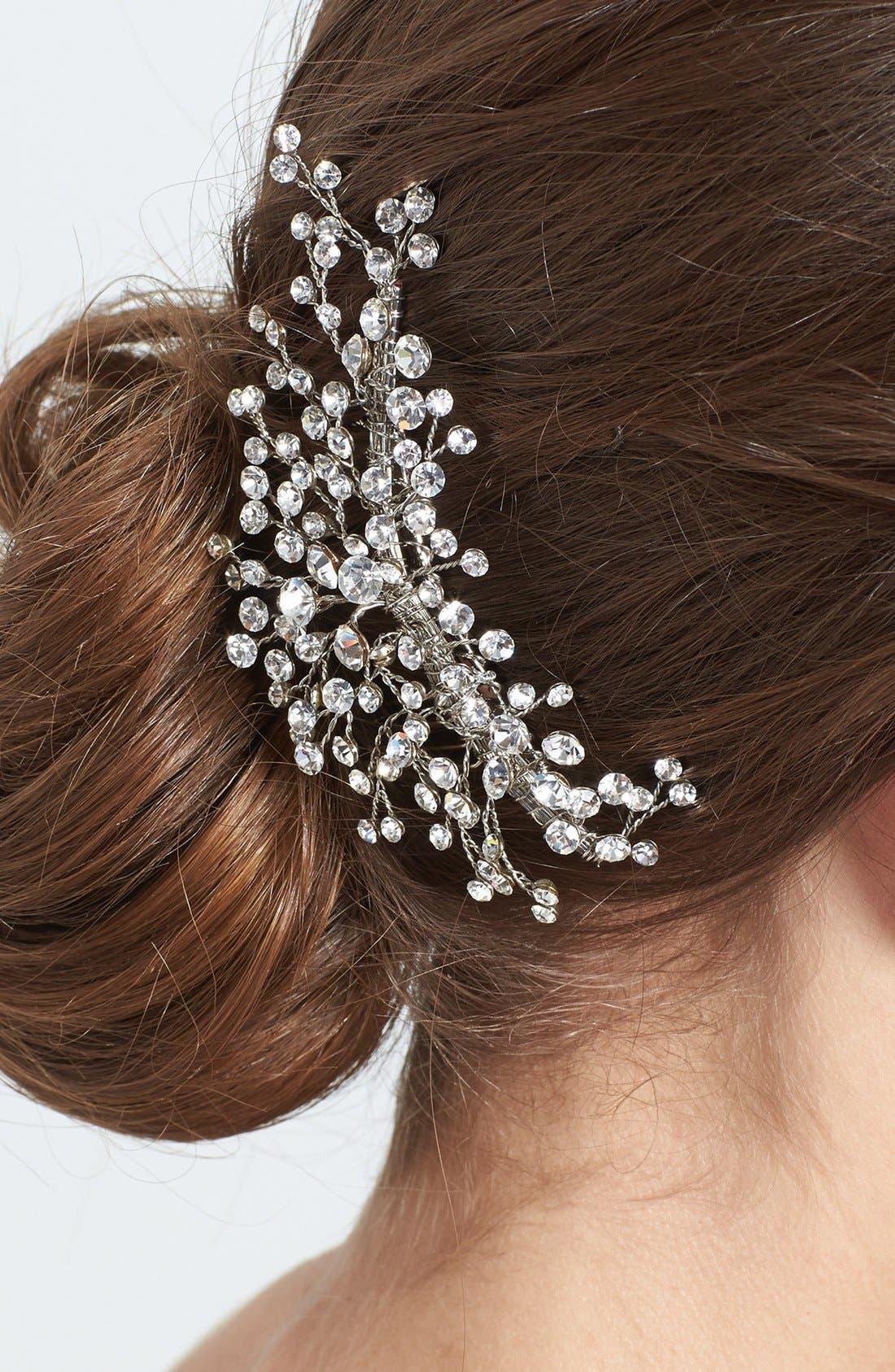 Alternate Image 2  - Wedding Belles New York 'Brilliance' Hair Comb