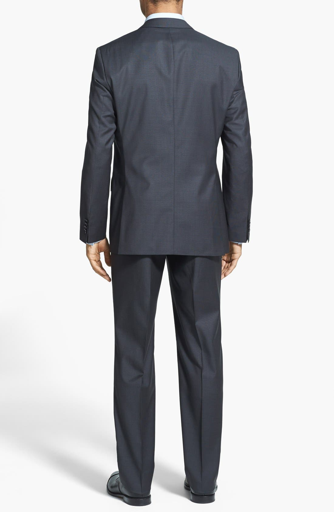 Alternate Image 2  - BOSS HUGO BOSS 'Keys/Shaft' Trim Fit Wool Suit