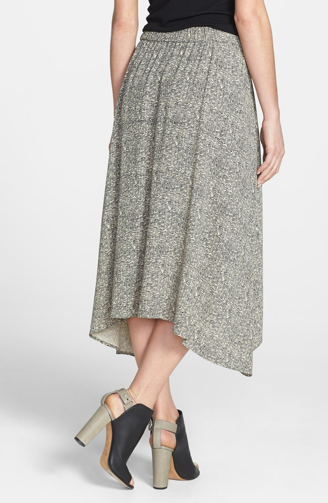 Alternate Image 2  - Eileen Fisher Print Midi Skirt