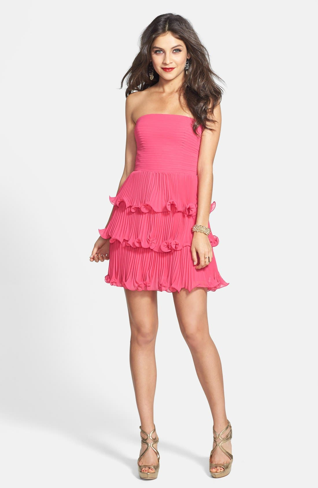 Main Image - ERIN erin fetherston 'Sweet Pea' Chiffon Dress