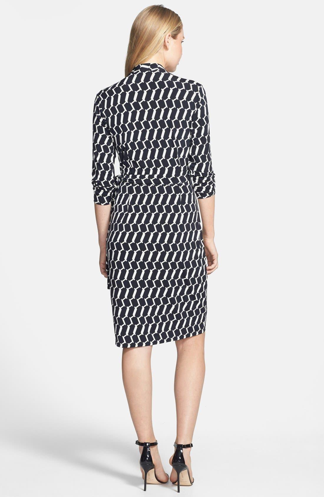 Alternate Image 3  - Maggy London Print Matte Jersey Wrap Dress