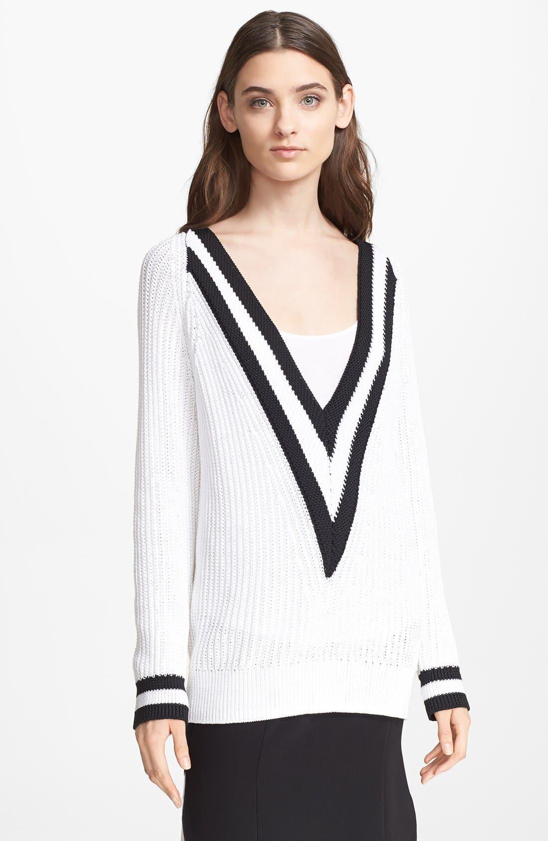 Alternate Image 1 Selected - rag & bone 'Talia' V-Neck Sweater