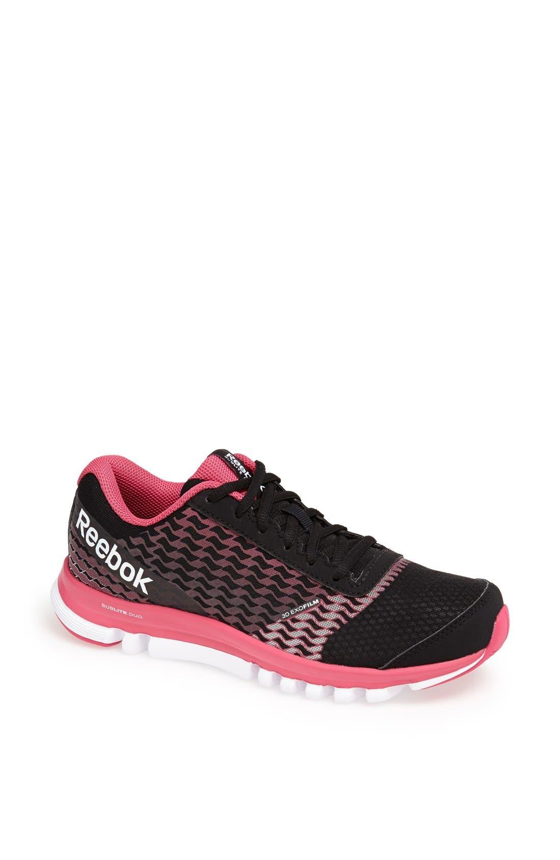 Alternate Image 1 Selected - Reebok 'SubLite Duo Instinct' Running Shoe (Women)